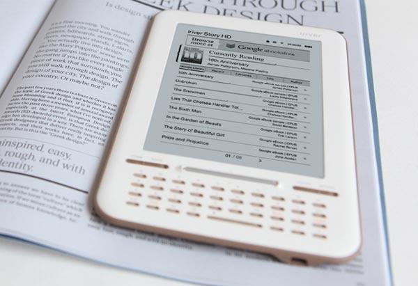Google Story HD, el nuevo lector de libros de Google