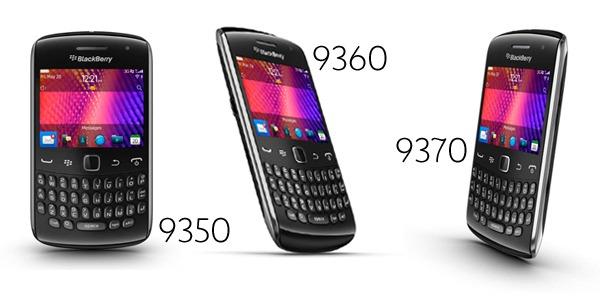 RIM anuncia nuevas versiones de su Blackberry Curve