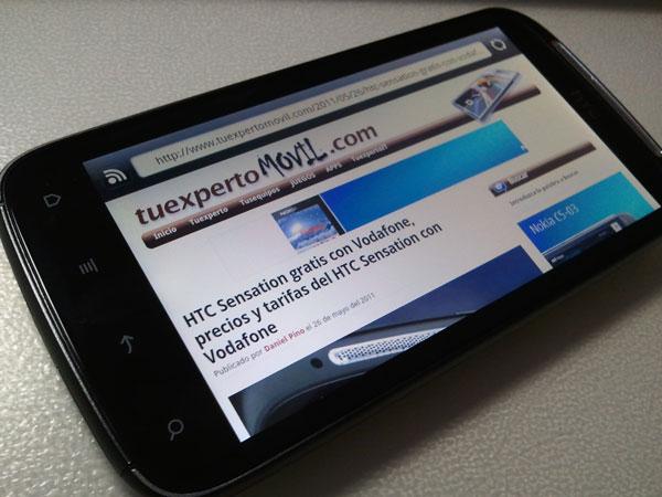 HTC Sensation, se actualiza a Android 2.3.4 Gingerbread ...