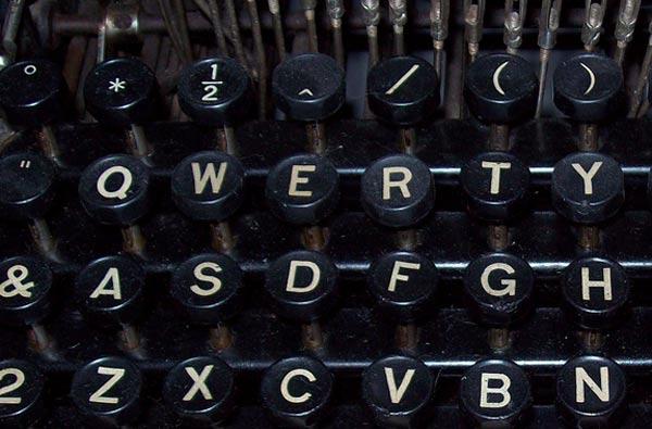 Teclado QWERTY, cosas curiosas sobre los teclados QWERTY