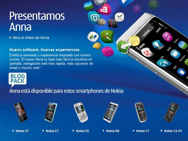 Symbian Anna ya se puede descargar en España
