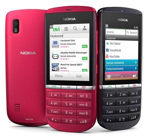 El Nokia Asha 300 ya está disponible en España