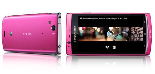 Sony Ericsson Xperia Arc S 01