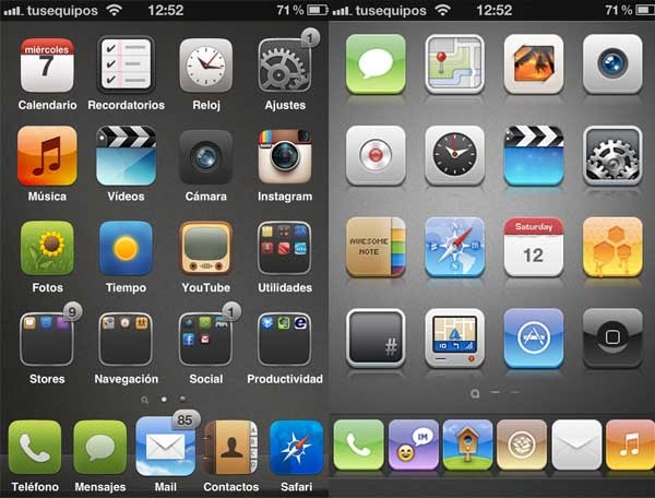 iphone cydia five six icon dock 01