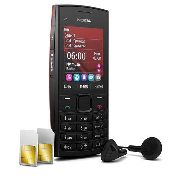 Nokia X2-02, un terminal básico con doble SIM