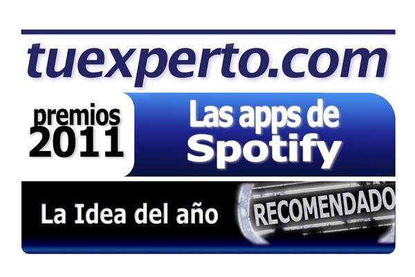 premio tuexperto SPOTIFY Idea 2011