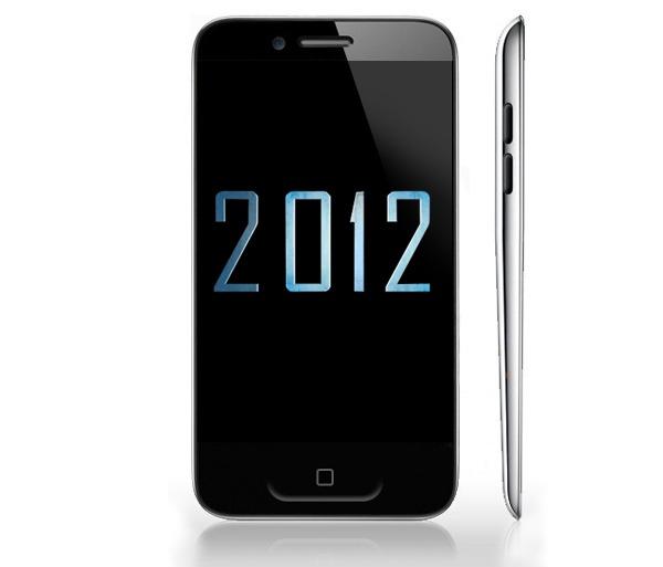 Los smartphones más esperados de 2012