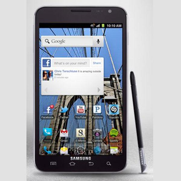 Aparece una imagen del Samsung Galaxy Note con Android 4.0
