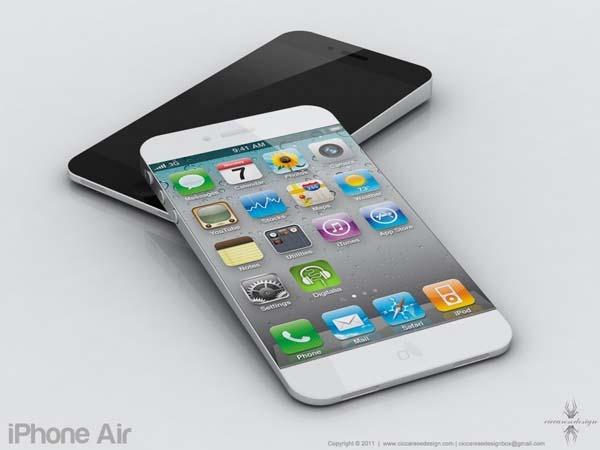 El iPhone 5 podría tener un tipo de pantalla más delgada