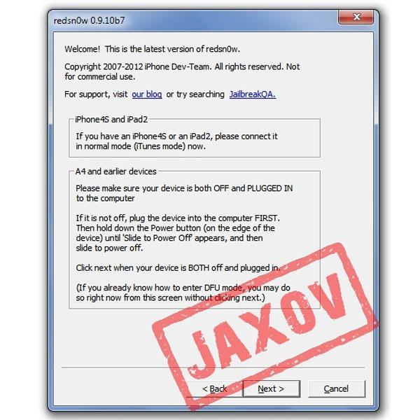 jailbreak iphone4s redsnow 01