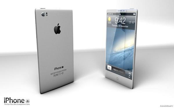 Realizan un concepto del iPhone 5 con proyector integrado