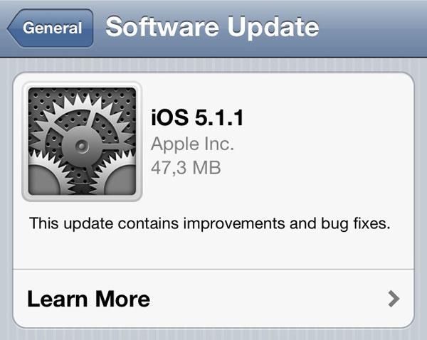 Todas las novedades de iOS 5.1.1 para iPhone, iPad y iPod Touch