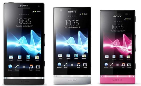 Diferencias entre Sony Xperia S, Sony Xperia P y Sony Xperia U