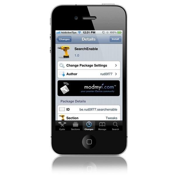 Cambia el motor de búsqueda del navegador en tu iPhone con Jailbreak