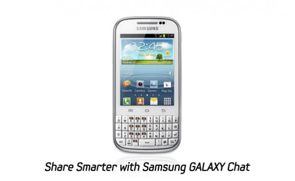 el Samsung Galaxy™ Chat
