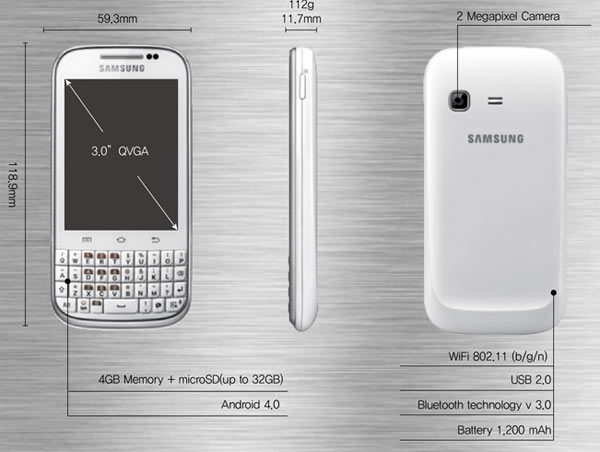 Samsung Galaxy™ Chat 04