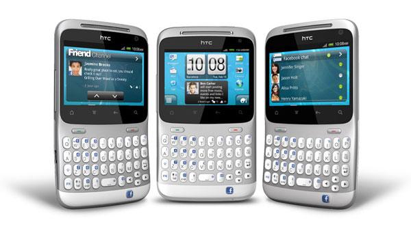 Comparativa: Samsung Galaxy Chat vs HTC ChaChaCha 1