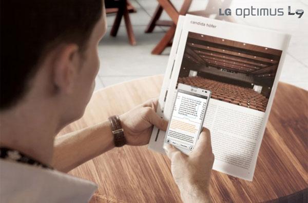 LG Optimus L9 01
