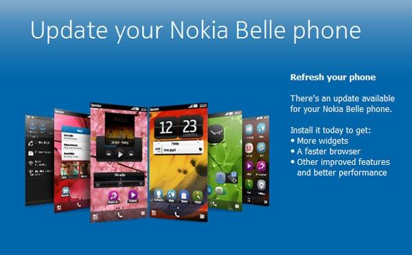 Nokia lanza la actualización a Nokia Belle Refresh