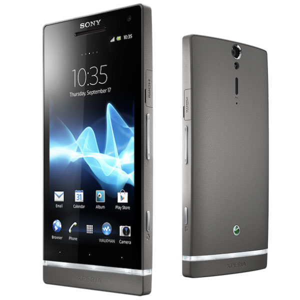 El Sony Xperia S estará disponible en color plateado