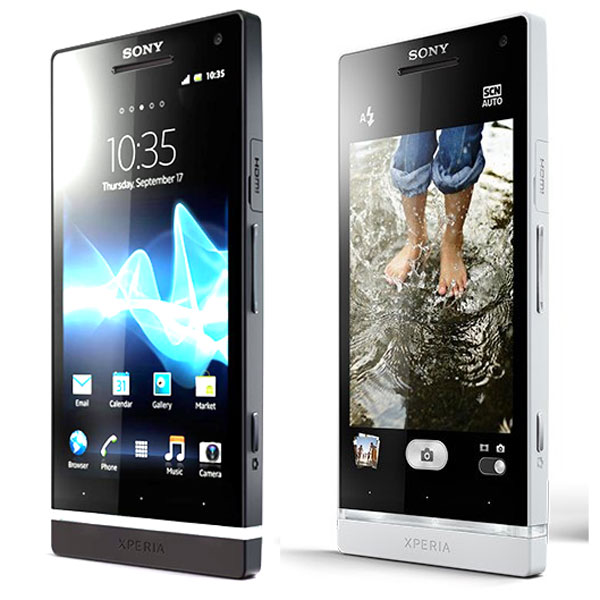 Sony Xperia S vs SL 01