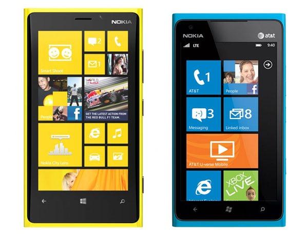 NokiaLumia920 vs NokiaLumia900
