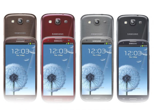 Samsung Galaxy S3 colores 01