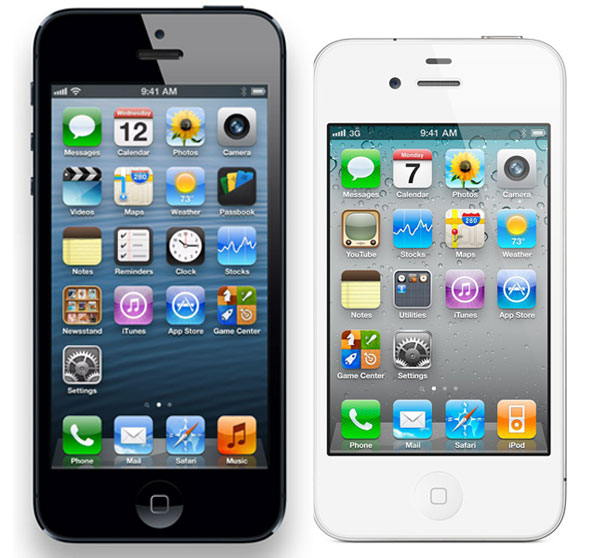 iPhone5 vs iPhone4s 01