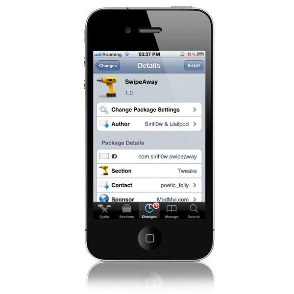 Cierra todas las aplicaciones con un gesto en tu iPhone con Jailbreak