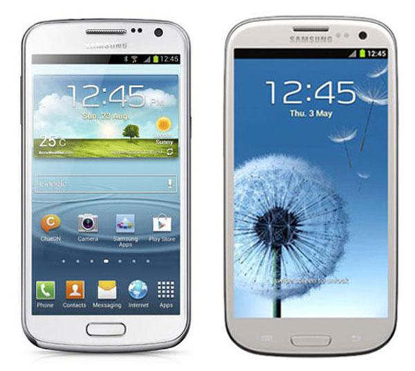 Comparativa, Samsung Galaxy Premier vs Samsung Galaxy S3