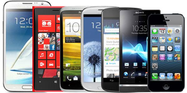 Los mejores smartphones de 2012