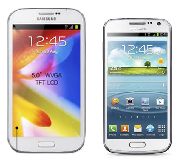 Samsung GALAXY Grand vs Samsung Galaxy Premier