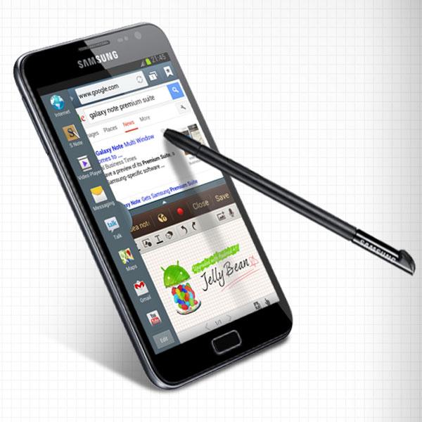 Todos los detalles de Android 4.1 Premium Suite para Samsung Galaxy Note