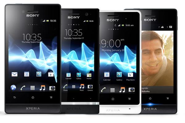 Diferencias entre Sony Xperia J, Xperia U, Xperia go y Xperia miro