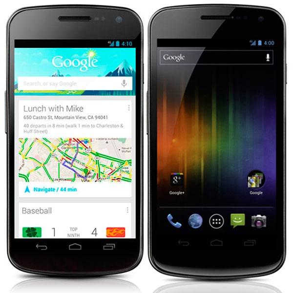 Comparativa Nexus 4 vs Samsung Galaxy Nexus