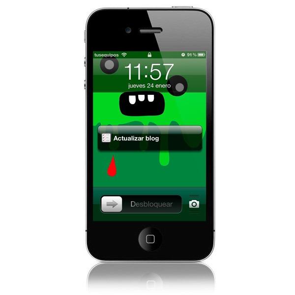 Añade recordatorios a la pantalla de bloqueo del iPhone con Jailbreak