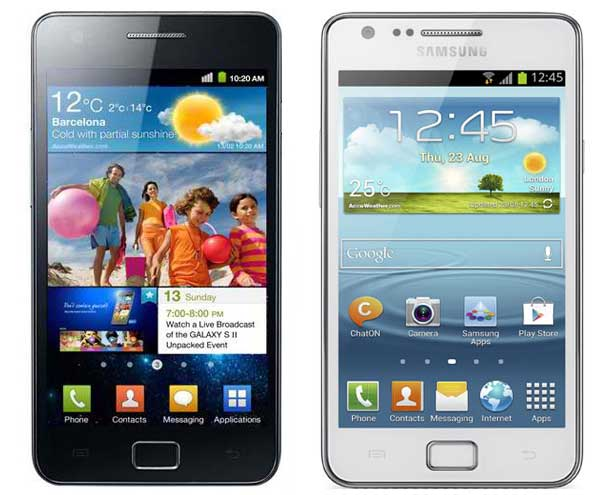 Samsung Galaxy S2 vs S2Plus