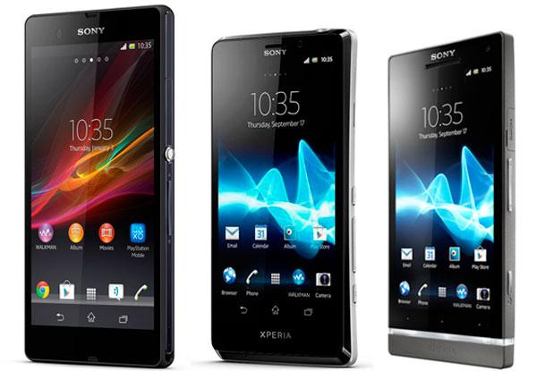 Sony Xperia S T Z