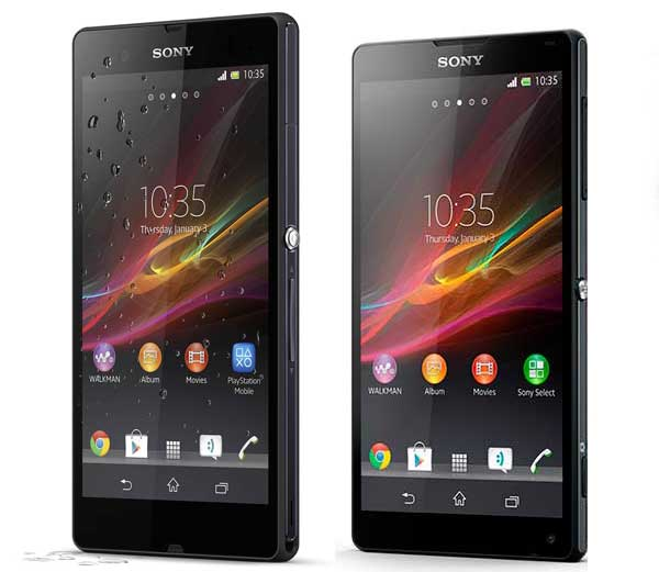 Sony Xperia Z vs ZL