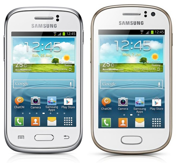 Comparativa Samsung Galaxy Fame vs Samsung Galaxy Young