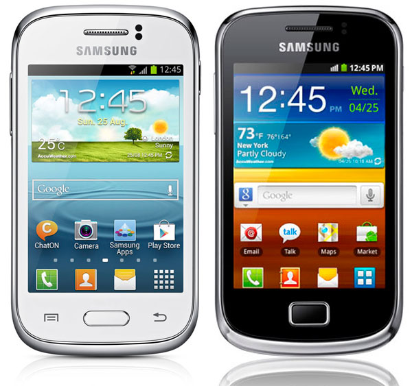 Samsung Galaxy Young vs Mini2