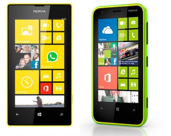 Comparativa Nokia Lumia 520 vs Nokia Lumia 620Nokia Lumia 620 Vs 520