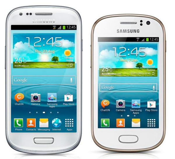 Comparativa Samsung Galaxy S3 Mini vs Samsung Galaxy Fame