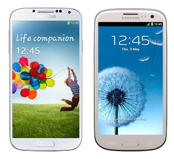 Comparativa Samsung Galaxy S4 vs Samsung Galaxy S3