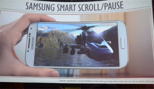 Smart Scroll y Smart Pause, nuevas características del Samsung Galaxy S4
