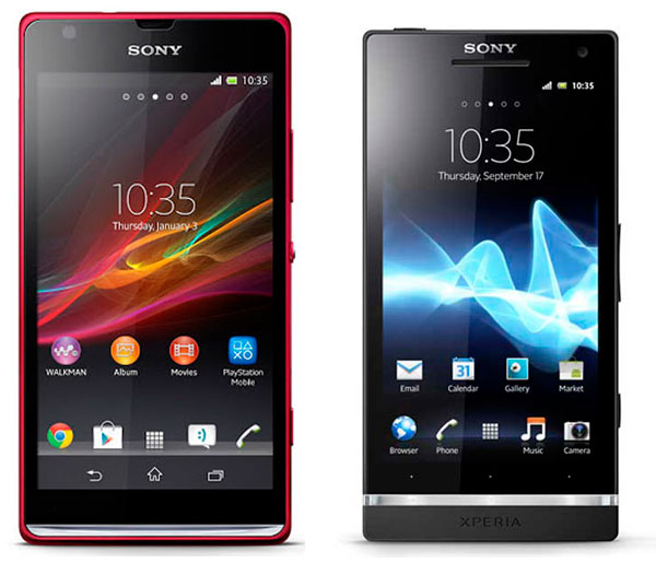 Comparativa Sony Xperia SP vs Sony Xperia S