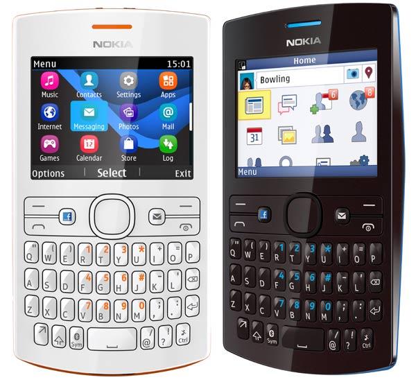 Comparativa Nokia Asha 205 vs Nokia Asha 210