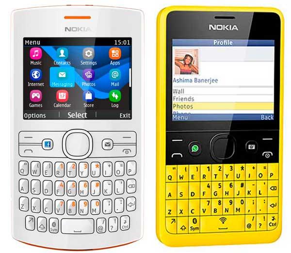 Comparativa Nokia Asha 205 vs Nokia Asha 210 | Trucos para Celulares