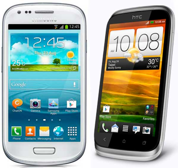Comparativa, Samsung Galaxy S3 Mini vs HTC Desire X