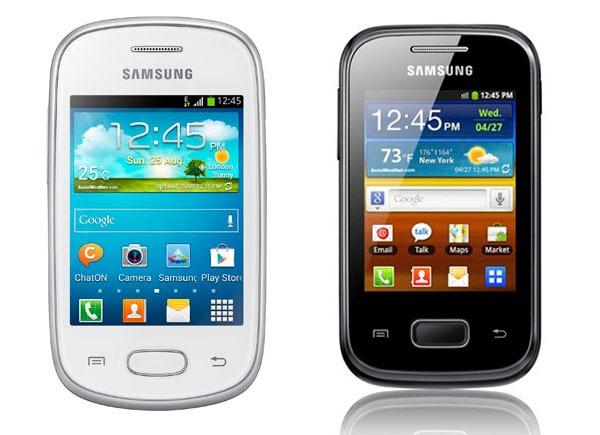 Comparativa Samsung Galaxy Star vs Samsung Galaxy Pocket